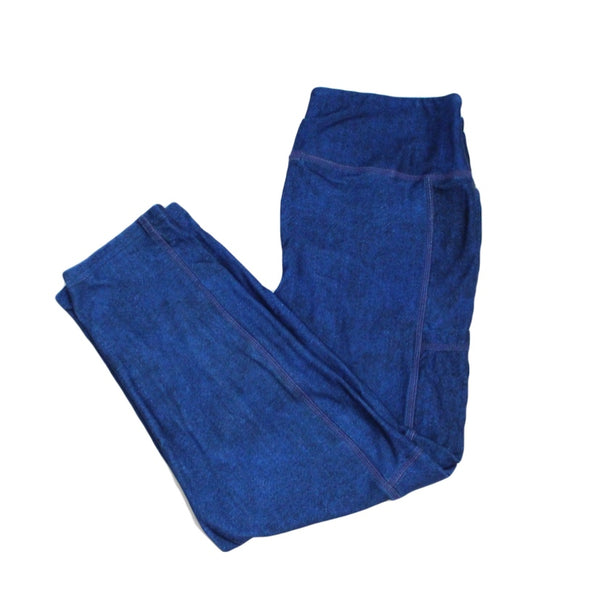 Denim Capri Legging with pockets
