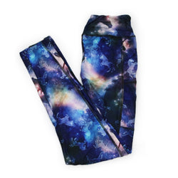 Unicorn Sky Full Length Legging with pockets