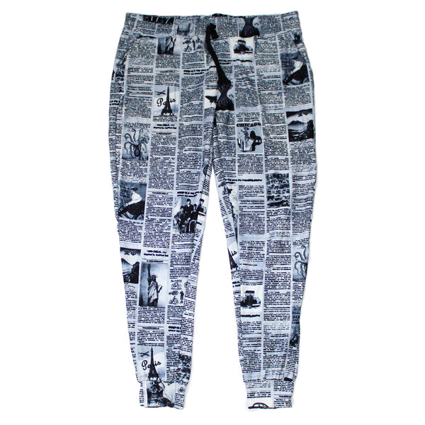 Newsprint Jogger