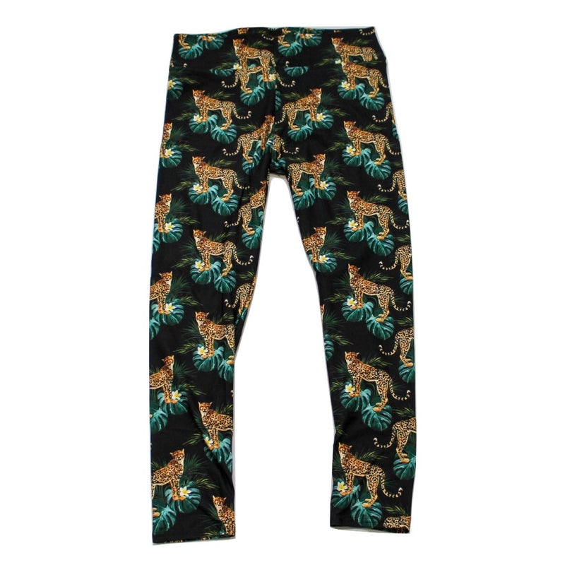 Cheetahtude full length legging NO pockets