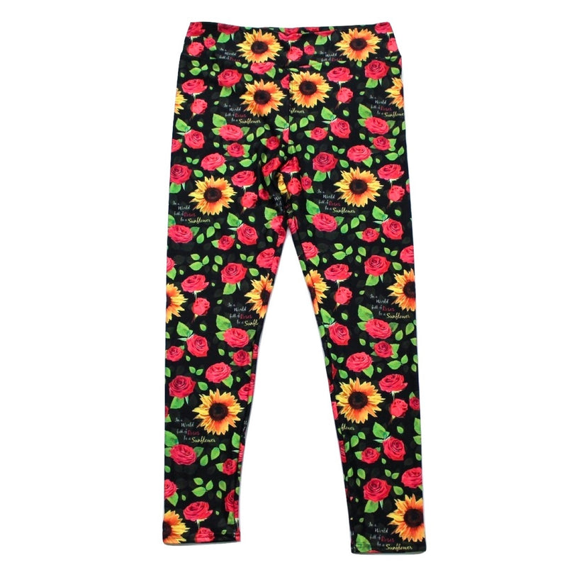 Be A Sunflower full length legging NO pockets