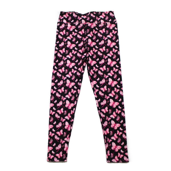 Pink butterflies full length legging NO pockets