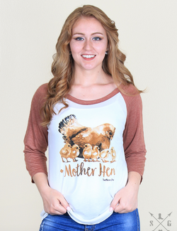 Mother Hen Raglan