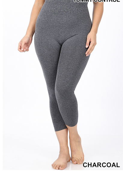Zenana brand capri leggings (no pockets)