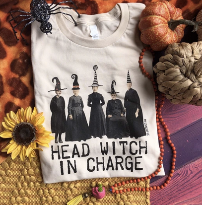 Head Witch in Charge Graphic tee