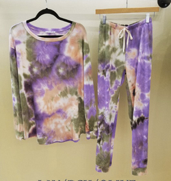 Tie Dye Sweat SET