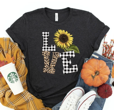 Sunflower Love Tee Shirt