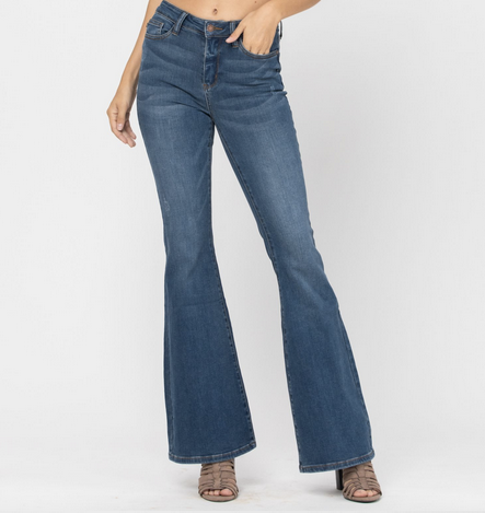 Judy Blue 88172 High Rise Flare