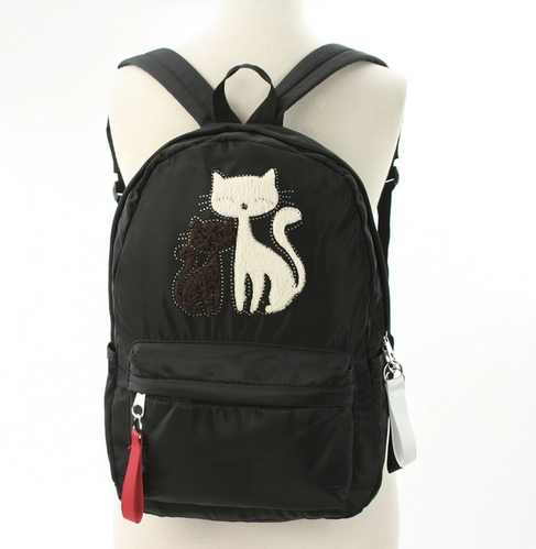 Furry cats backpack