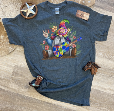 Guitar Hippie Gnome