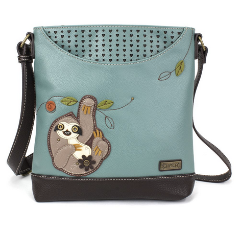 Chala Sloth Messenger Bag