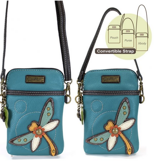 Chala Dragonfly Cell Phone Crossbody