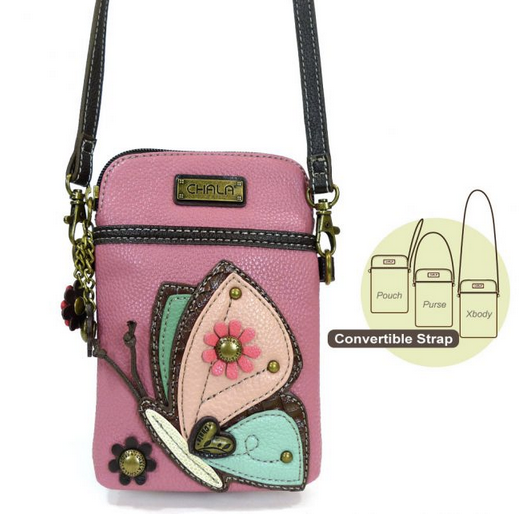 Chala Butterfly Cell Phone Crossbody