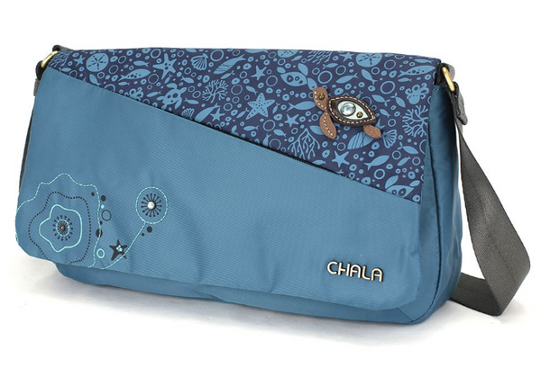 Chala Turtle Envoy Messenger Bag