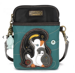 Chala Penguin Cell Phone Crossbody