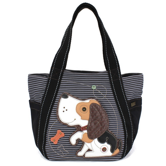 Chala Dog Carryall Zip Tote