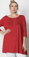 Love In 3/4 sleeve tunic XL/2X/3X