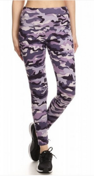 Fleece Leggings - print