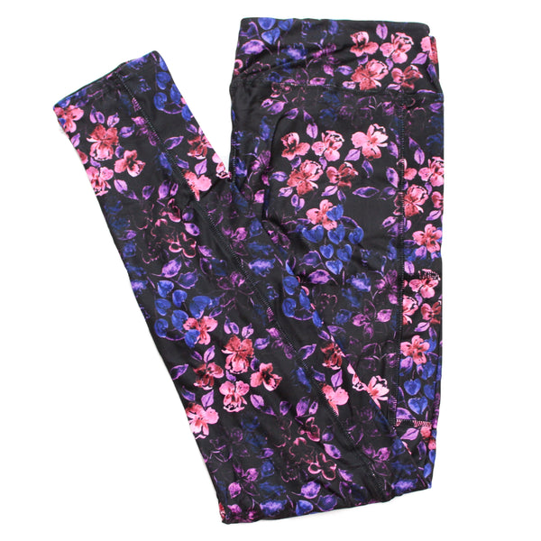 Velvet Iris full length legging with pockets