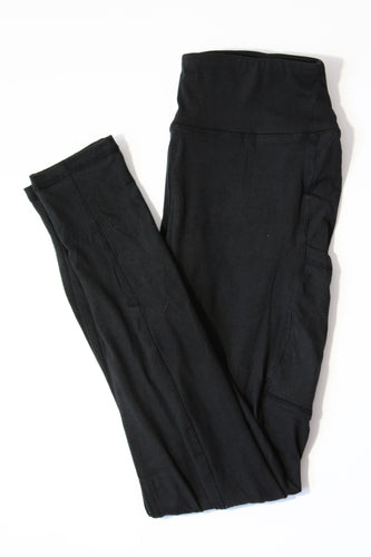 Magic Pocket Legging - Black Full Length