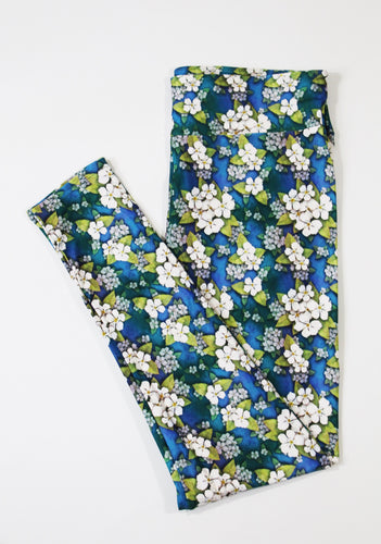 Pear blossom full length legging