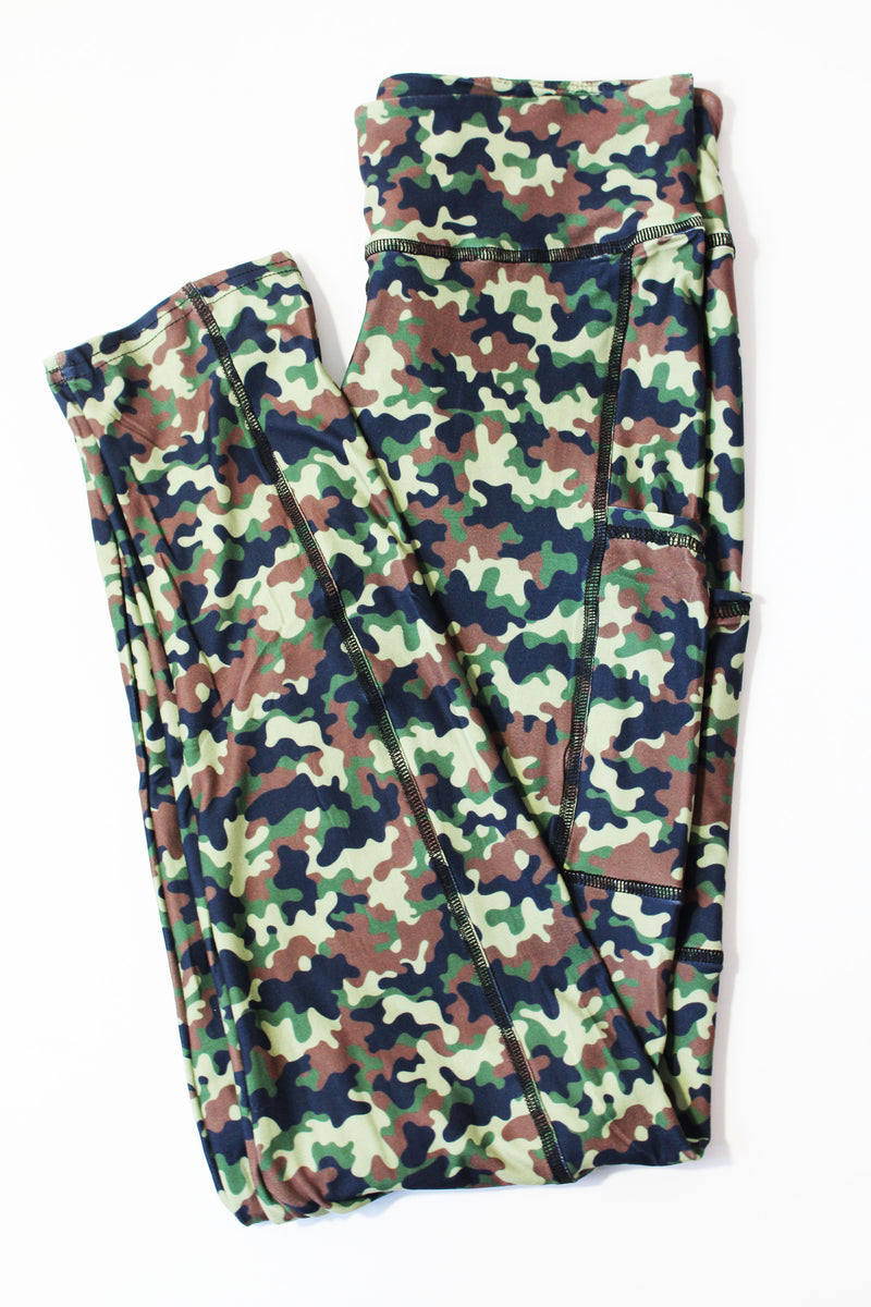 Camo with pockets