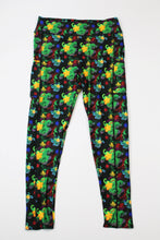 Meeple Mayhem (board game theme) full length legging with pockets