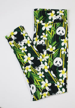 Pandas full length legging