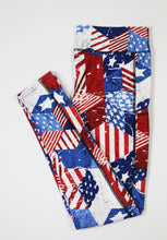 Patriotic full length legging with pockets