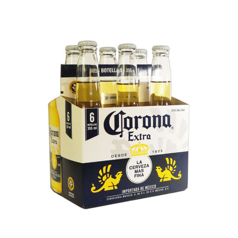Cerveza Corona 355 ml Six Pack