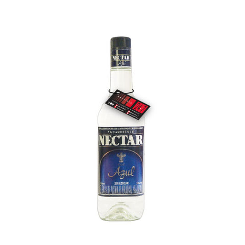 Aguardiente Néctar Azul Botella 750 ml