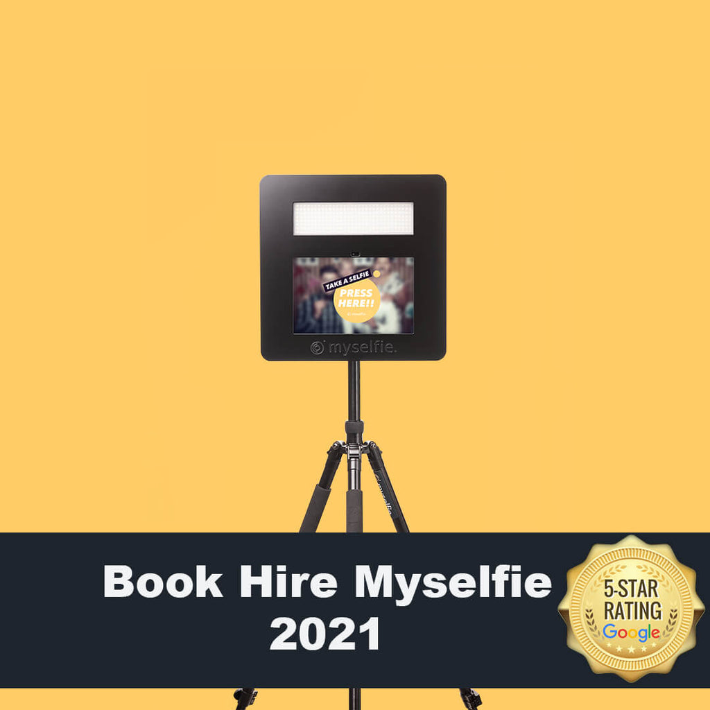 Book Your Hire Myselfie for 2021