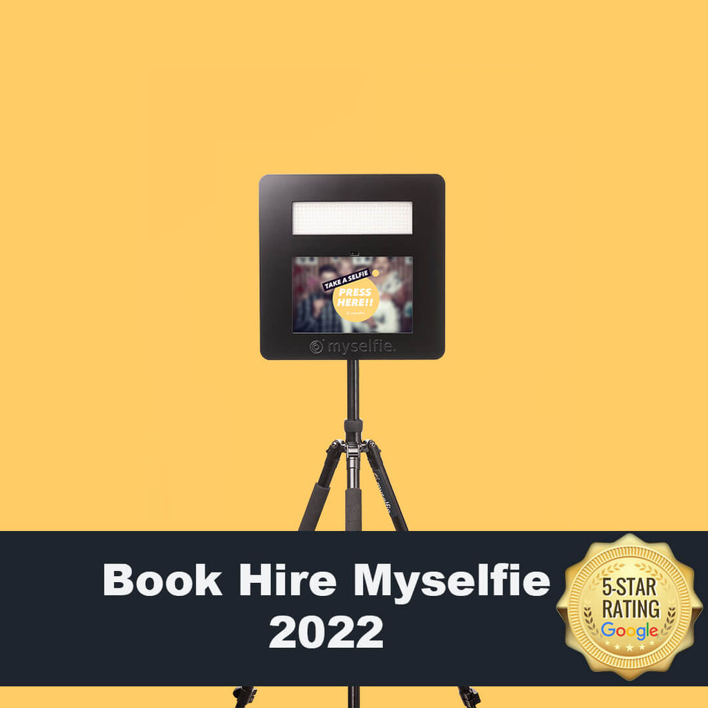 Book Your Hire Myselfie for 2022
