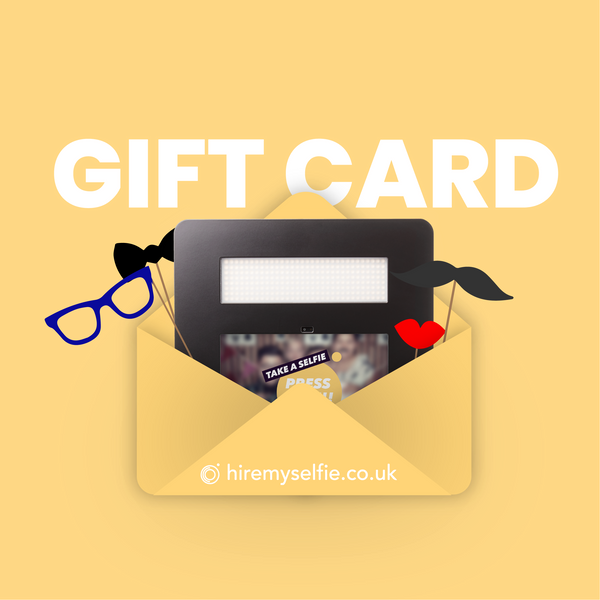 Gift Card - Myselfie | Hire an open photo booth