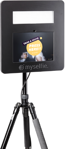 Hire a myselfie Open Photo Booth Deposit (Free Delivery London Zone 1 & 2) - Myselfie | Hire an open photo booth