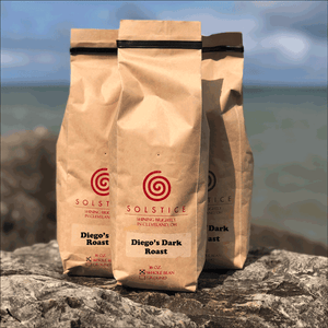 Diego's Dark Roast Direct Trade Organic Blend - One Pound (16 oz.)