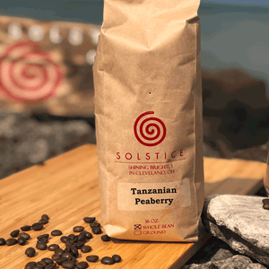 Tanzanian Peaberry - One Pound (16 oz.)