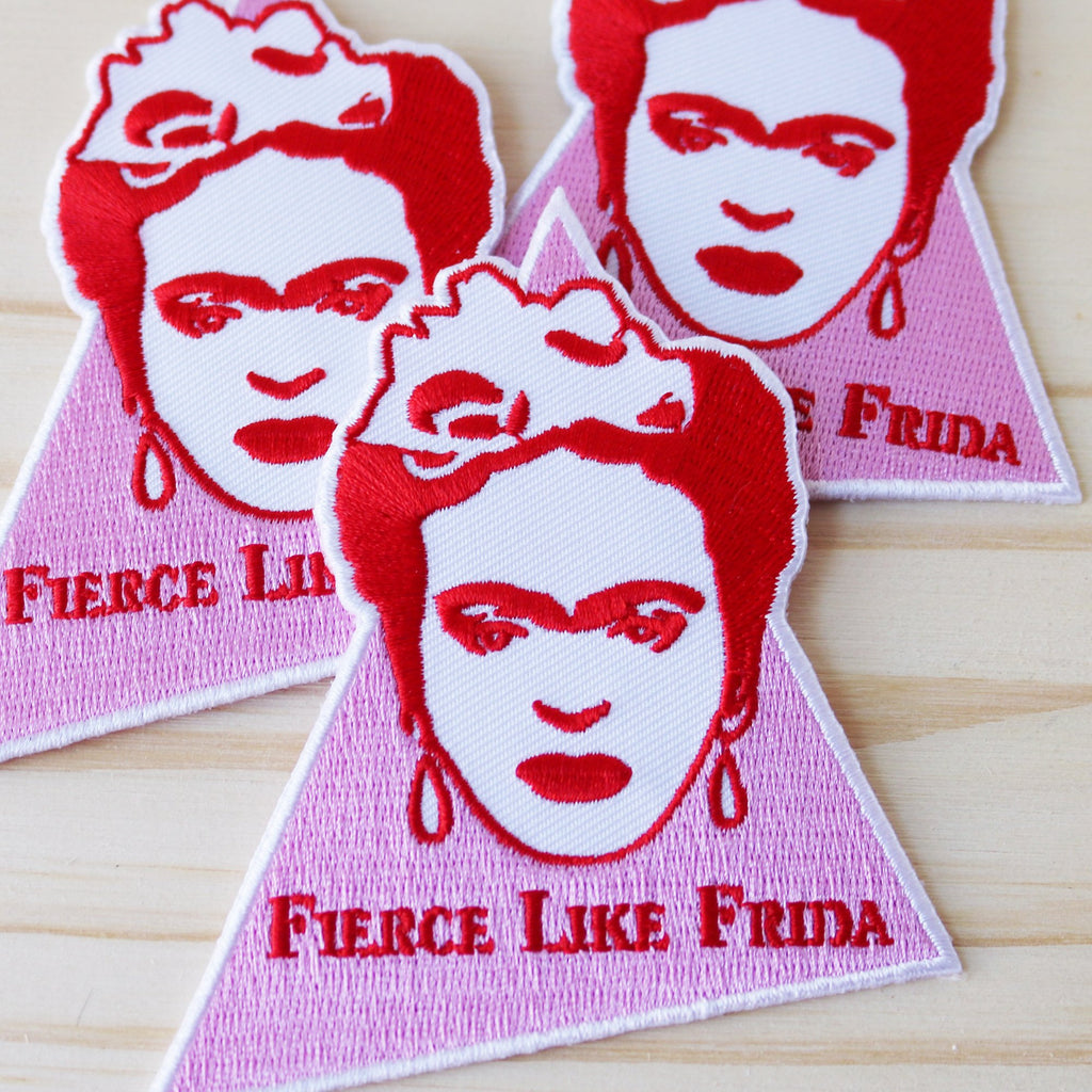 Frida Kahlo Patch La Pimbêche feminist patch