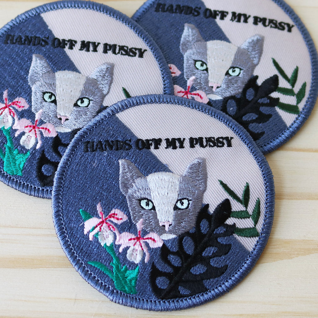 Patch - La pimbêche: What's yours is yours. Hurry, get your hand on this delicate and polite patch.
