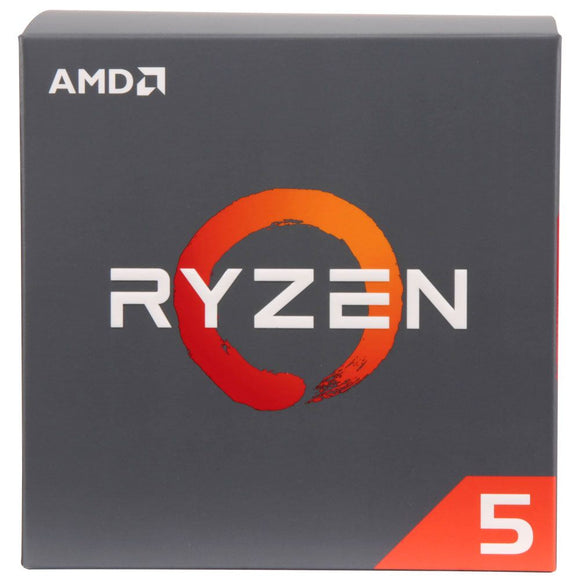 AMD Ryzen 5 2600 3.4GHz 6 Core AM4 Boxed Processor with Wraith Stealth Cooler