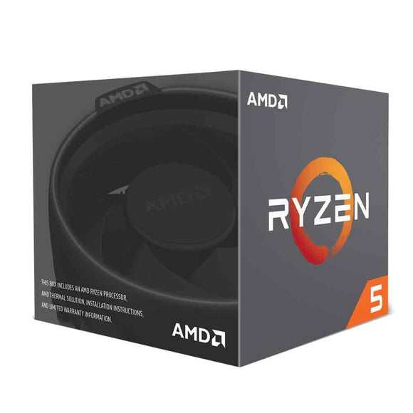 AMD Ryzen 5 2600X 3.6GHz 6 Core AM4 Boxed Processor with Wraith Spire Cooler