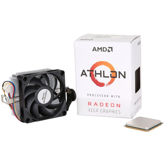 AMD Athlon 200GE 3.2GHz Dual Core AM4 Boxer Processor with Radeon Vega 3 Graphics