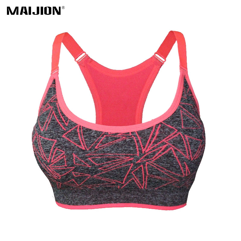 Sports Bra Sweat Absorb Quick Dry Stretchy - BahaHomeDecor