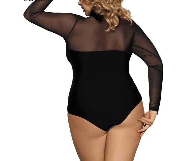 Plus Size 5XL Fashion Romper Playsuit Long Sleeve