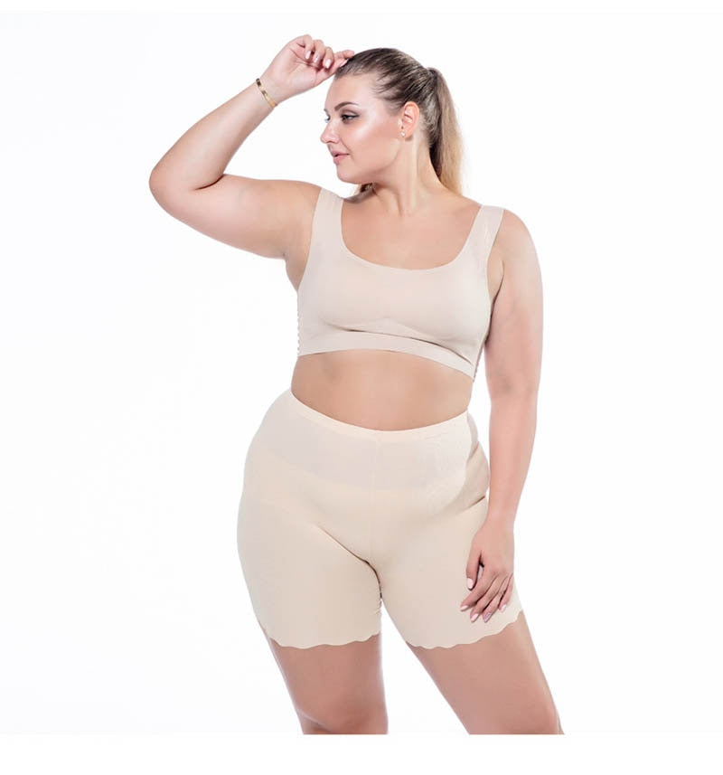 Plus  Size High Waist Soft And Comfortable Cotton Boxer