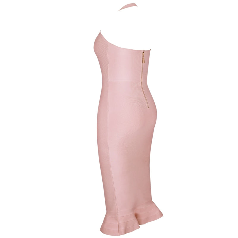 Women's Mermaid Plus Size Bandage Bodycon Dresses