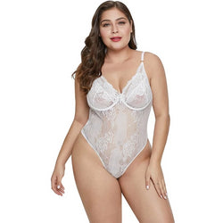 Big Size Costume See Through Baby Doll