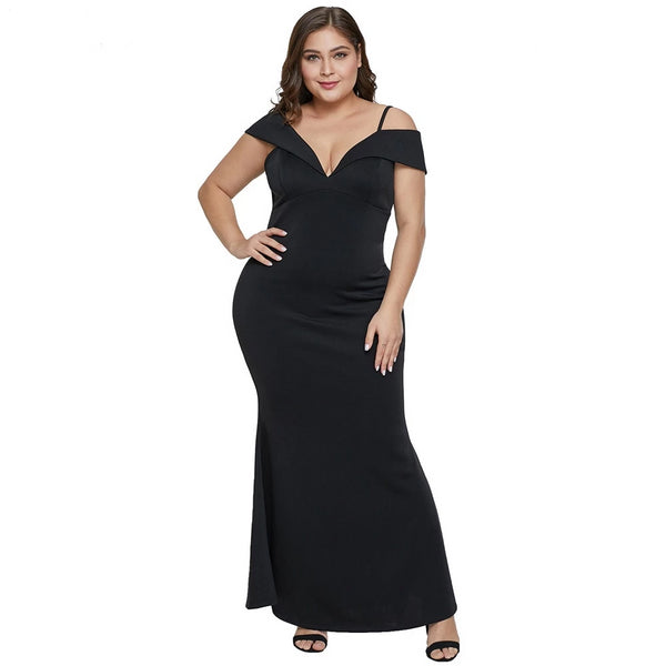 Bodycon Party night plus size maxi dress