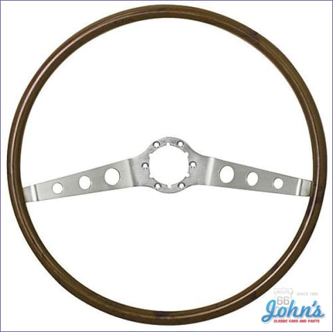 2 Spoke Wood Steering Wheel Only A X
