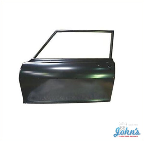 2Dr Sedan Door Shell With Window Frame. Lh (Truck) X
